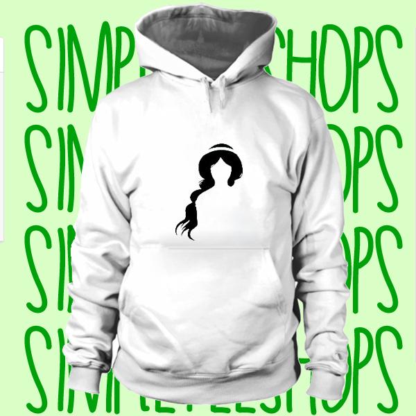 Princess Jasmine Silhoutte hoodie n21