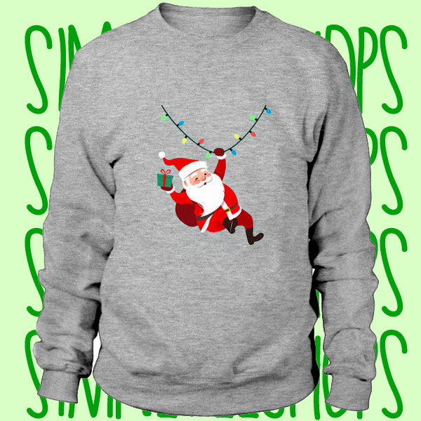 santa claus sweatshirt n21