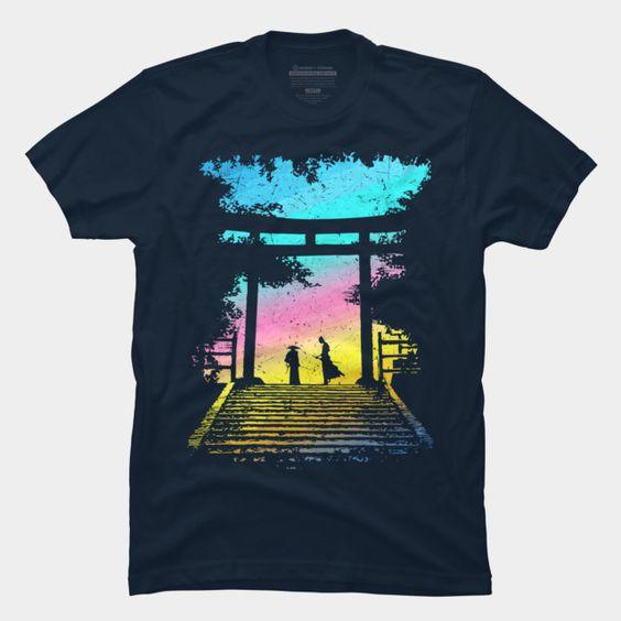 2 Samurai t shirt