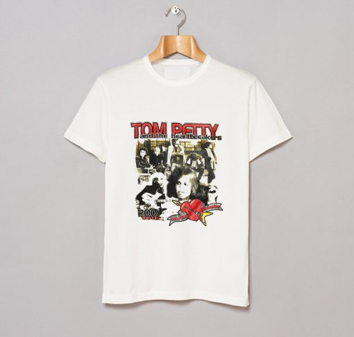 2001 Tom Petty and The Heartbreakers T Shirt AI