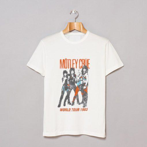 83 World Tour Motley Crue T-Shirt AI