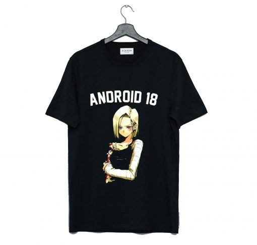 Android 18 T Shirt AI