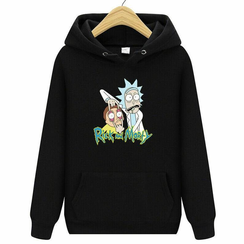 Rick And Morty Hoodie AI
