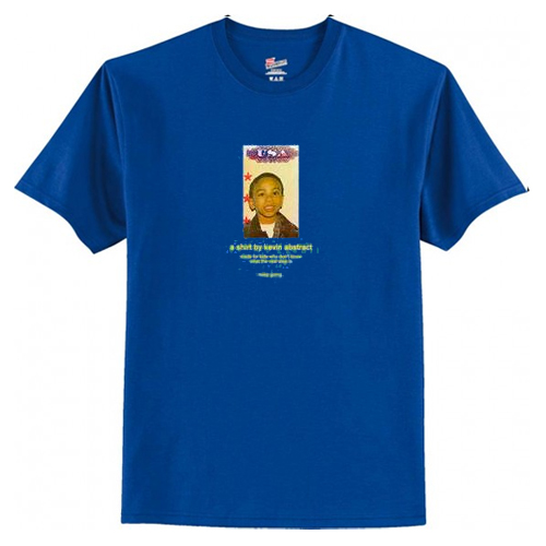 A Shirt By Kevin Abstract 'keep going' T-Shirt AI
