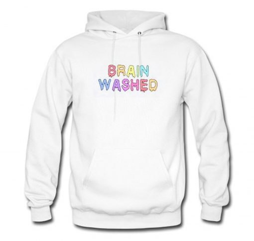 Brain Washed Colour Hoodie KM