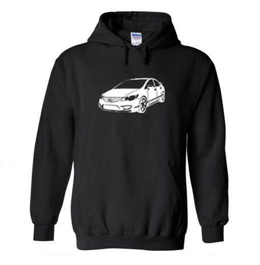 Honda Civic Hoodie KM