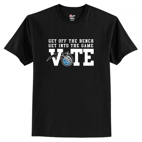 NBA VOTE T-Shirt AI